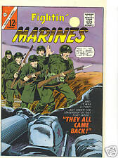 FIGHTIN' MARINES  #62 Approval cover 1964 (paper) Charlton comics item