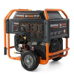 Generac 5802 - XG10000E 10,000 Watt Electric Start Portable, 49 State