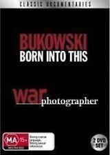 BUKOWSKI Born Into This/War Photographer 2DVD NEW