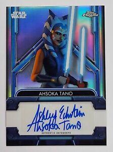2021 Star Wars Chrome Legacy REFRACTOR Autograph ASHLEY ECKSTEIN as AHSOKA Auto