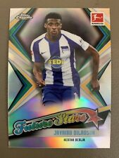 2019-20 Topps Chrome Bundesliga Future Stars SP JAVAIRO DILAOSUN- Hertha Berlin