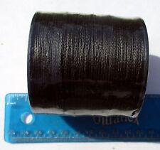 1100yds (1000m) SUPERLINE 60lb test BLACK Braid Fishing Line,Durable & Strong,