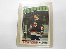 1976-77 Topps #115 Byan Trottier RC Islanders Rookie EX jh1