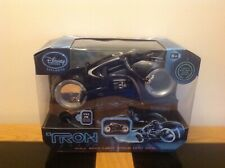 Tron Legacy MISB UK Exclusive Pull Back Light Cycle with Ramp!