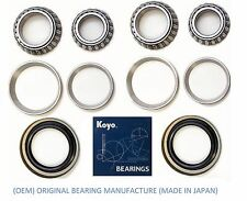 1990-1995 TOYOTA 4RUNNER Front (OEM) KOYO Wheel Bearing & Race & Seal Kit (RWD)