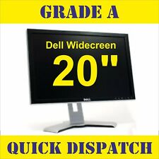 "DELL 20"" TFT/LCD WIDE SCREEN PC LAPTOP MONITOR SCREEN VGA 20 INCH GRADE A"
