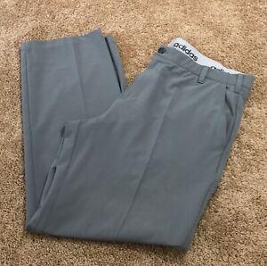 $80 adidas Golf Men's Ultimate365 Classic Performance Pants Gray 38 X 30