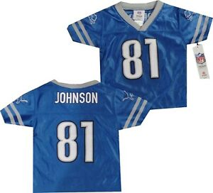 Detroit Lions Calvin Johnson Toddler Outerstuff 2T Jersey 2T New tags