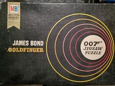 """GOLDFINGER"" James Bond 007 by Milton Bradley 1965 Jigsaw Puzzle"