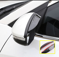 FOR VOLVO S40 S80 S60 V60 XC90 C30 DOOR SIDE WING MIRROR RAIN GUARD VISOR SHIELD