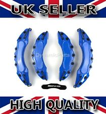 BRAKE CALIPER COVERS SET KIT FRONT & REAR BLUE ABS 4PCS (AMG)