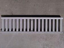 GRIGLIA CARRABILE MODULARE PER DRENAGGIO ACQUA PVC GRIGIO 130X500 MM  FIRST