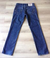 TRUE RELIGION JEANS LOGAN SIZE 30 X 34 VGC MADE IN USA