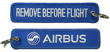 Airbus Remove Before Flight Key Ring Luggage Tag