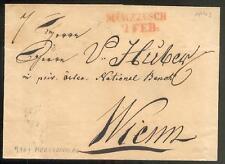 ÖSTERREICH 1843 VORPHILABRIEF von MÜRZZUSCH nach WIEN(D0863