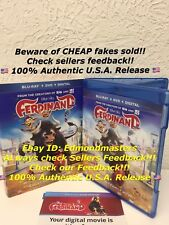 Ferdinand 2018 Blu Ray+Digital HD ONLY (NO DVD INCLUDED) Please Read Carefully!!