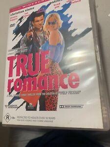 True Romance (DVD, 1999) Region 4 Rare