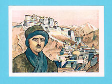 Sven Hedin Vintage 1951 Hohmann Explorer Card from Germany