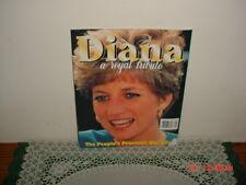 DIANA: A ROYAL TRIBUTE 1997 The People's Princess: Her Life Magazine/Original