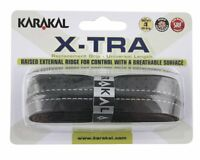 Karakal PU X-TRA Tennis Badminton Squash Breathable Cushioned Racket Grip x 2