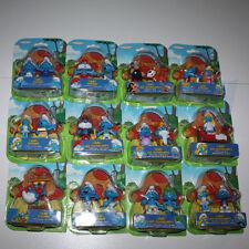 PUFFO PUFFI SMURF SMURFS Jakks Pacific 11700 e 11709 Serie 12 pezzi in Blister