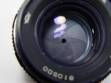 ZENITAR-M 50mm f/1.7 M42 Russian Lens Zenit, KMZ made. s/n 810500.