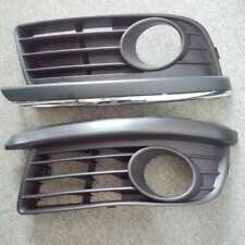 Fit For 06-09 VW JETTA MK5 OPEN VENT FOG LIGHT GRILLES - BLACK