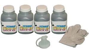 4 Pack High Yield Toner Refill Kits for the HP 1010 1012 1018 1020 Q2612A 12A