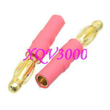 2pcs Great Planes Adapter 4MM Male to 3.5mm Female Bullet Connector