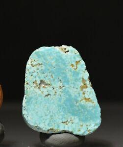 Fox Mine Nevada USA Natural Rough Turquoise Crystal Specimen
