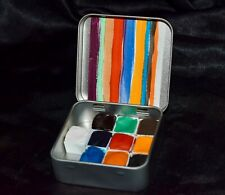 The Worlds Rarest Colors - Handmade Watercolor half-pan Paint Set