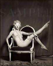 Vintage 1900s Nude Women 8X10 Fine Art Print Photo Picture Antique Old Burlesque