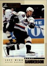 1997-98 Beehive Canucks Hockey Card #50 Geoff Sanderson