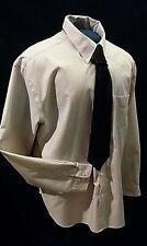 Men's Van Heusen Plaid/Chex, No Iron XL, 17-17.5 Long Sleeve Shirt