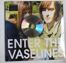 THE VASELINES - ENTER TRIPLE SEALED RECORD + BONUS HIGH TIDE LOW TIDE PROMO CD