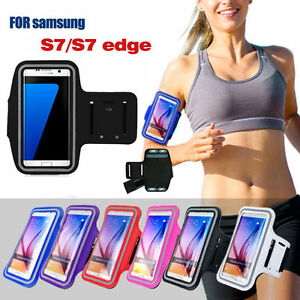 For Samsung Galaxy S7/S7 Edge Sports Gym Jogging Running Armband Arm Holder Case