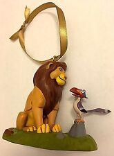 "Disney The Lion King ""Mufasa"" Figurines Christmas Ornament New"
