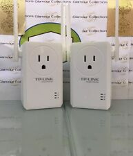 2 X TP-Link N300 Wi-Fi Range Extender with Pass-Through Outlet (TL-WA860RE) (O6)