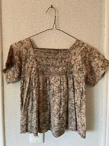 Bonpoint Liberty Fabric Blouse Top Girl Size 8
