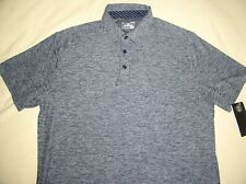 NWT Mens UNDER ARMOUR Classic Polo Shirt,Large,Blue+Gray,HEAT GEAR,Sport Top!