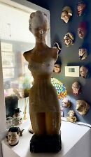 More details for rare art deco christian dior 'liane' teracotta corseted advertising figure