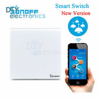 Sonoff Touch WIFI LED  Switch Glass Panel Wireless Remote Control US/EU US
