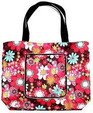 Pretty Floral Shopper, Folding Shopping Bag, Handy Shopper Bag, UK Seller