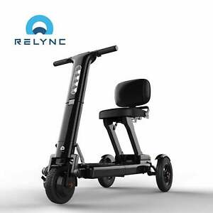 """""""Ex-Demonstration"""" Relync R1 Folding Lightweight Mobility Scooter"""