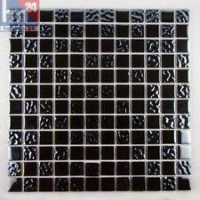 mosaïque NERO Composition verre métal carreau / mat 29,5 x 29,5 x 0,4 cm