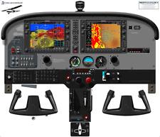 Cessna 172S Skyhawk SP Cockpit Poster with SVT G1000 NAV III & Bendix Autopilot