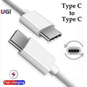 Type C to Type C Fast Charging Cable USB C Data Cord Charger For Sumsung S20 S10