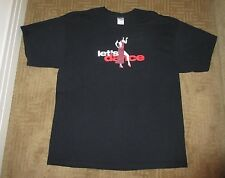xl DANCING WITH THE STARS Black T-Shirt Purchased from the Show ~ DWTS ~ X-Large