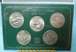 Maui Trade Dollars Limited Collector's Edition 2002-2006 w/ COA