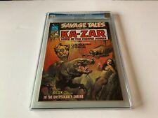 SAVAGE TALES 7 CGC 9.2 BORIS VALLEJO KAZAR BRAK MARVEL COMIC MAGAZINE 1974